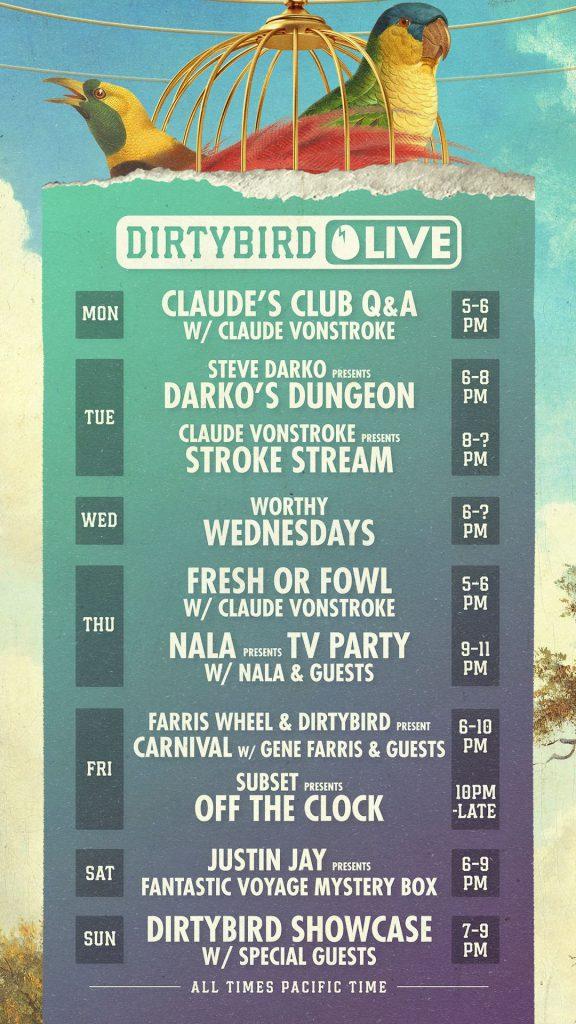 Dirtybird Live