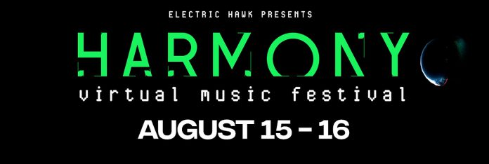Electric Hawk Harmony Virtual Music Festival August