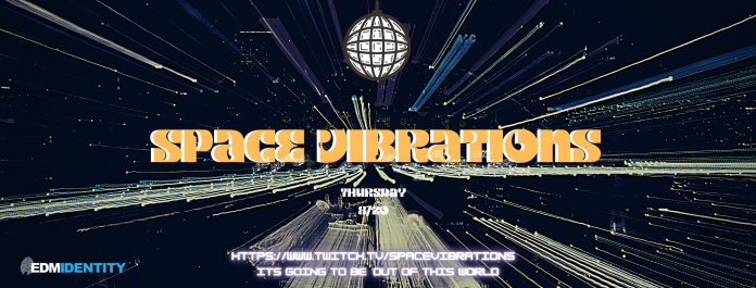 Space Vibrations Livestream Banner