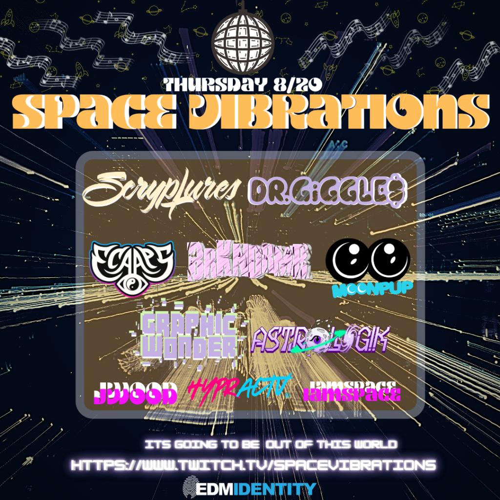 Space Vibrations Livestream Lineup