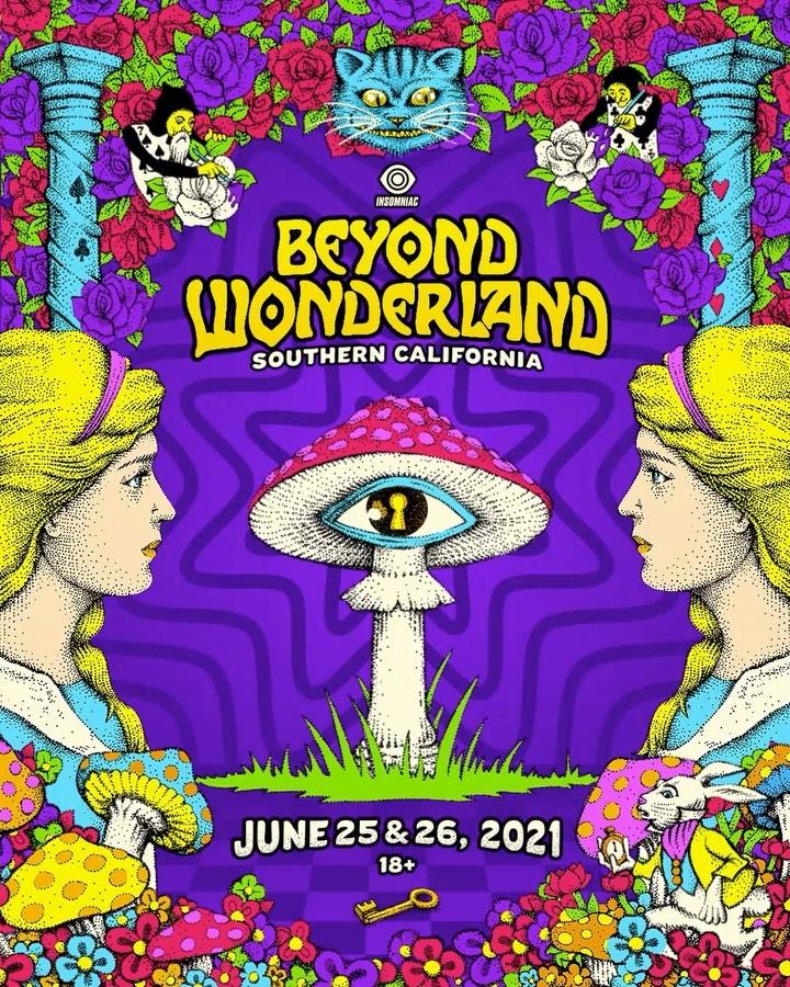 Beyond Wonderland SoCal 2021 Dates