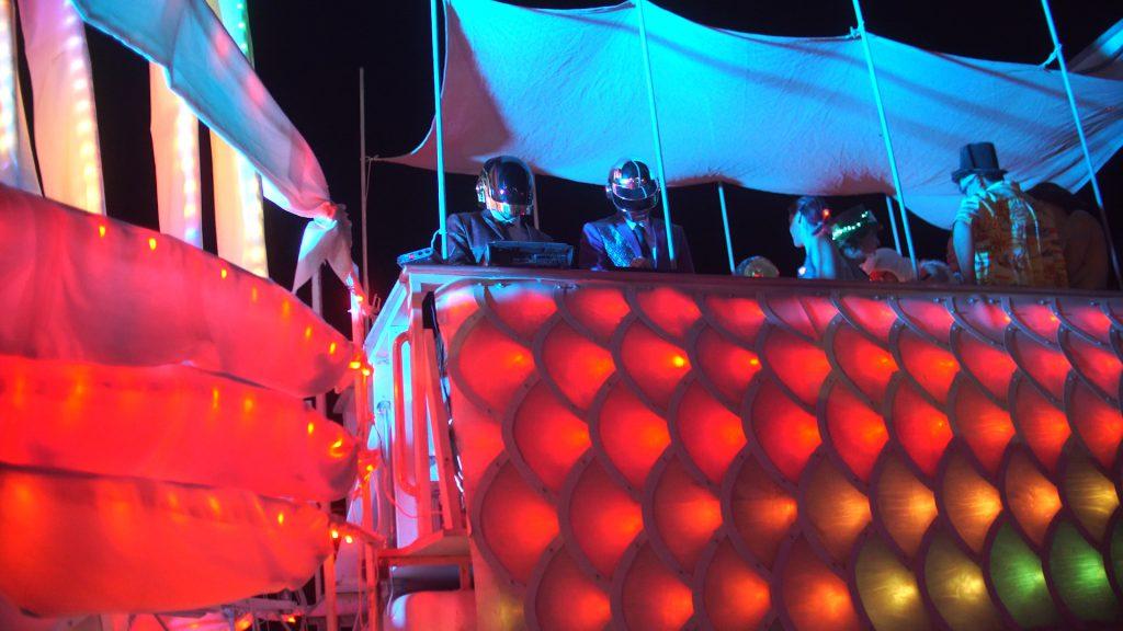 """""""Daft Punk"""" at Burning Man 2017"""