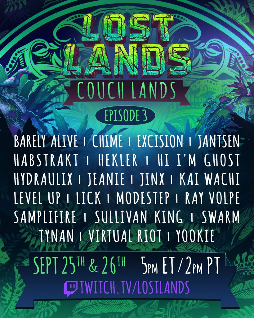 Couch Lands Episode 3 Lineup