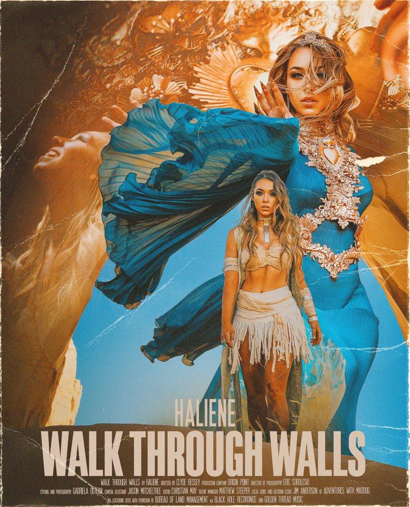 HALIENE Walk Through Walls