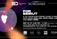 Beatport ReConnect For Beirut Electronic Labor Day