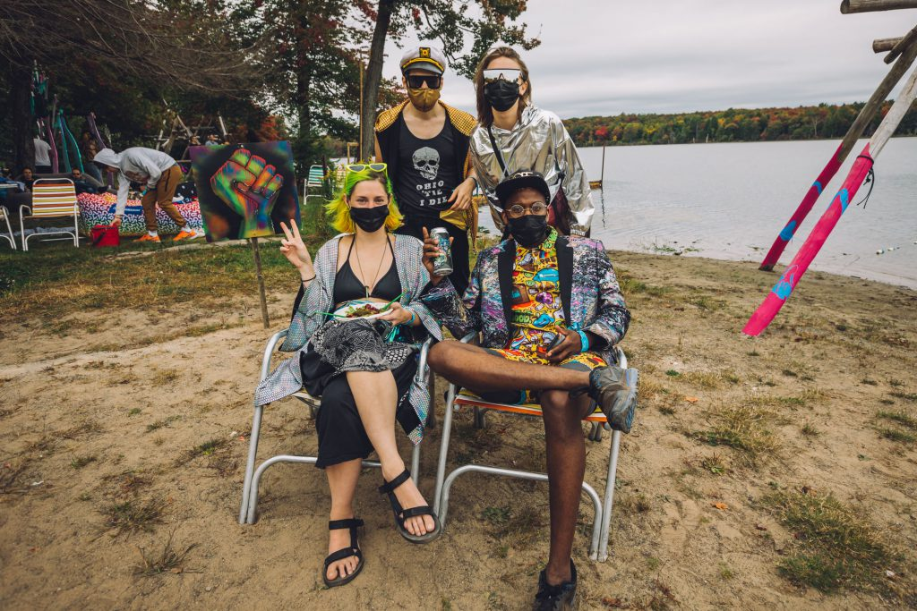 Chillin' at the Water Stage | Photo Credit: Off Brand Project