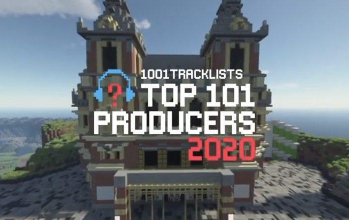 1001Tracklists Top 101 Producers Minecraft Celebration