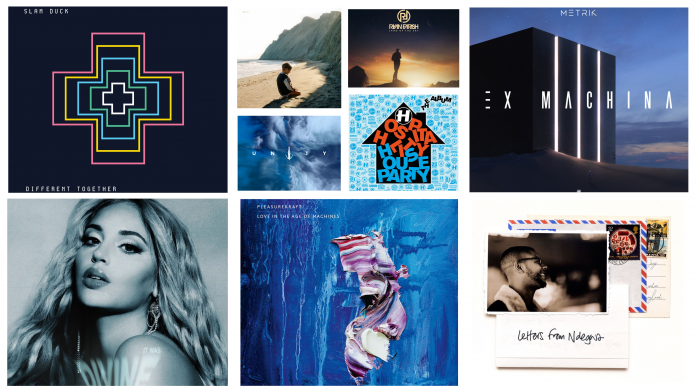 2020 - 9 Albums Feature Collage