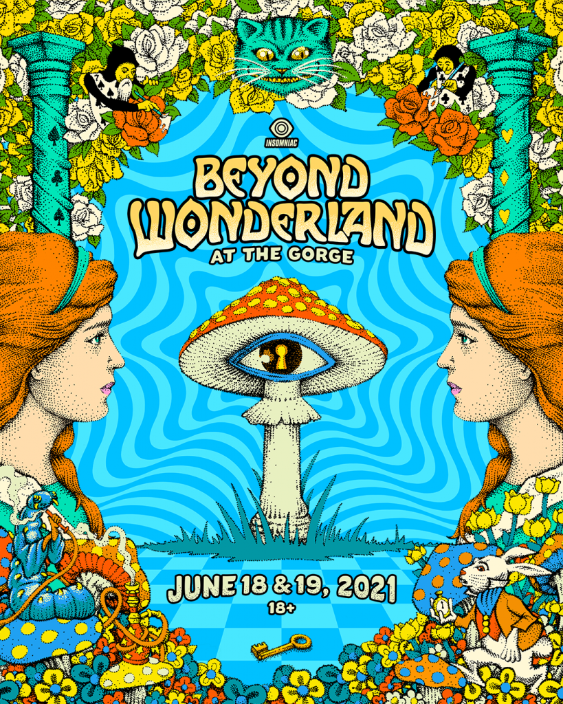 Beyond Wonderland at The Gorge 2021 Dates