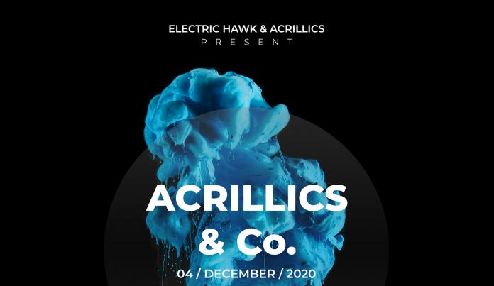 Electric Hawk Acrillics & Co. Livestream