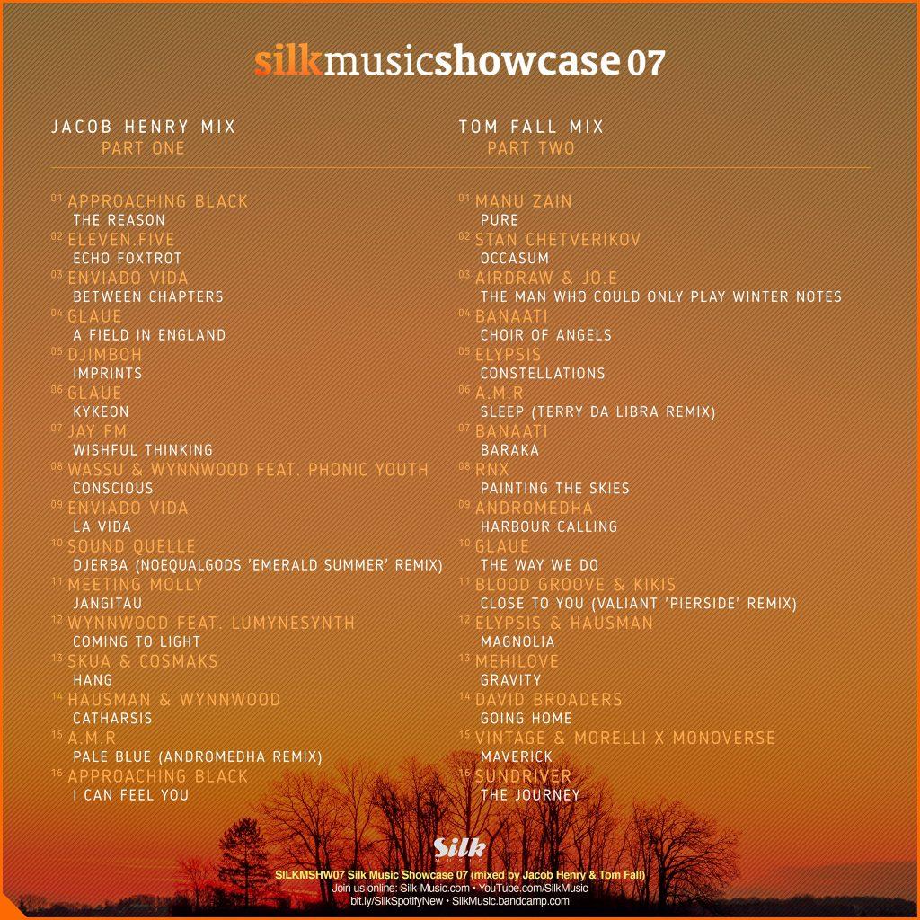 Silk Music Showcase 07 Tracklist