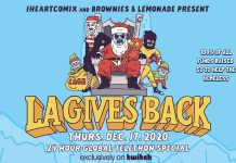 IHEARTCOMIX Brownies & Lemonade LA Gives Back 2020