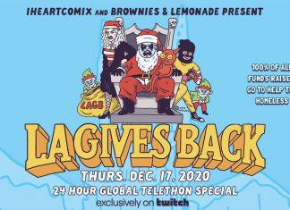 IHEARTCOMIX Brownies & Lemonade LA Gives Back 2020