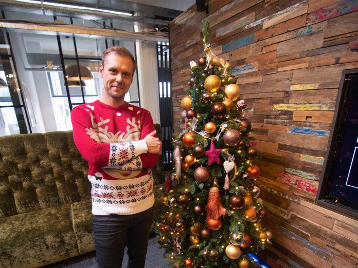 Armin van Buuren Christmas Tree