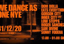 We Dance As One NYE Lineup