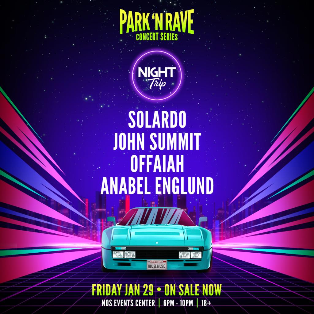 Night Trip Park N Rave Insomniac January 29