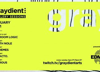 Graydient Collective Gallery Sessions January 2021 Flyer