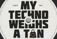 My Techno Weighs A Ton - Cover Art