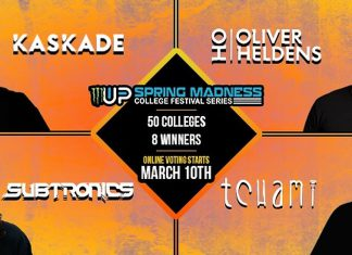 Monster Energy Up & Up Spring Madness Festival Headliners