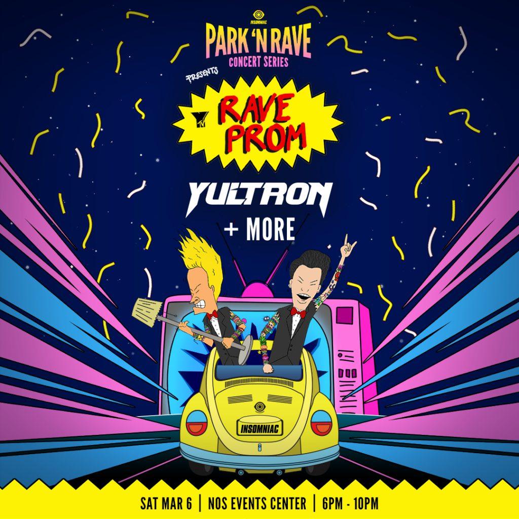 Yultron's Rave Prom Insomniac Park N Rave