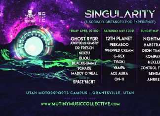 Mutiny Music Collective Singularity - Event Lineup