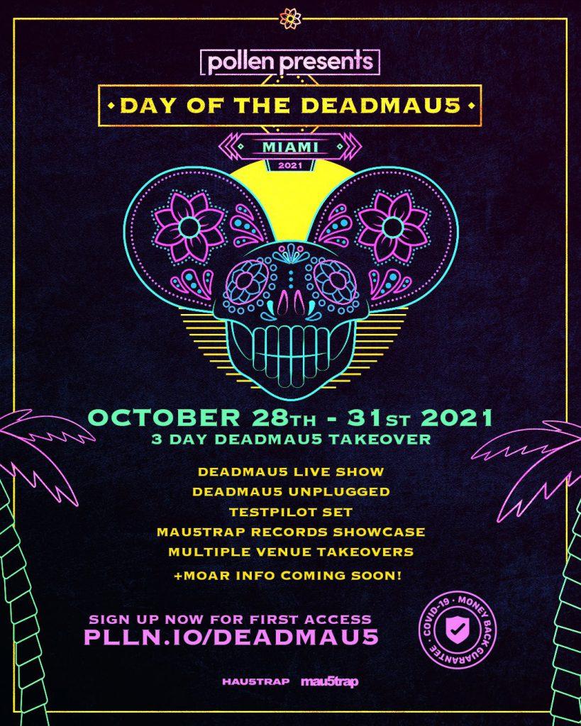 Day Of The deadmau5 Miami Halloween Weekend