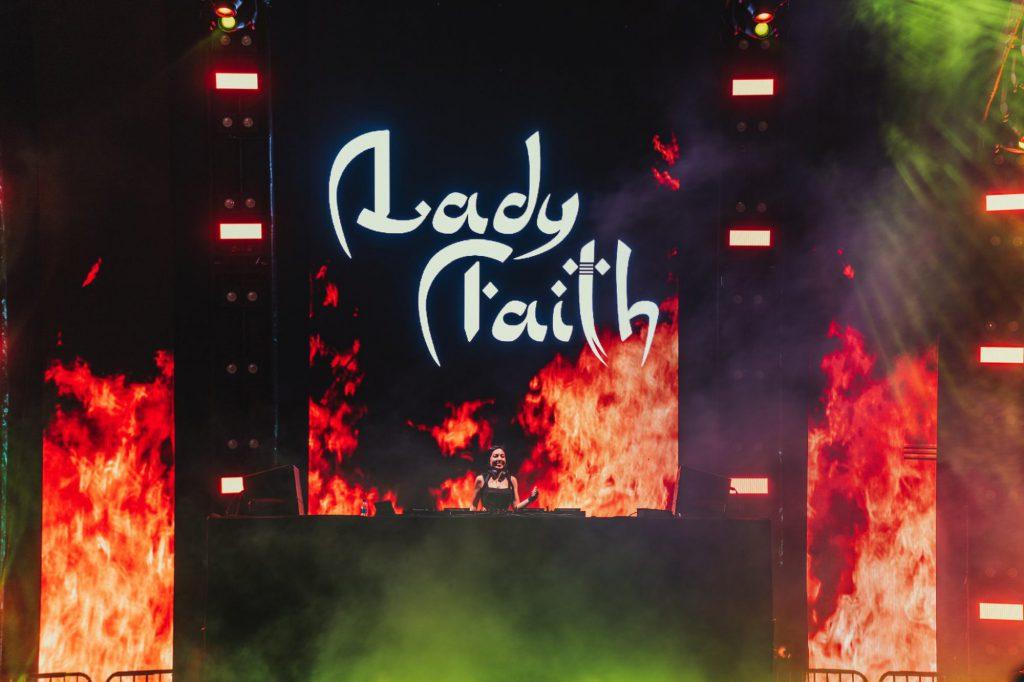 Lady Faith at Basscon Park n Rave Insomniac