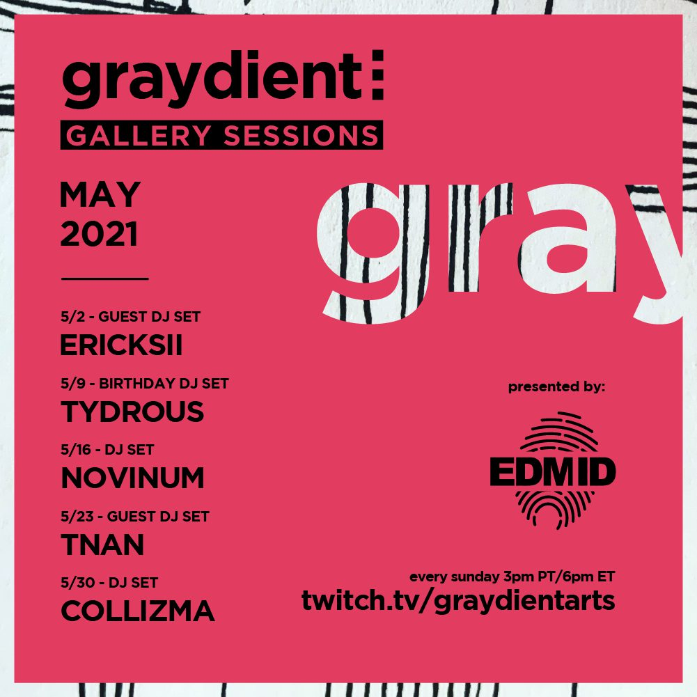 Graydient Collective Gallery Sessions May Lineup