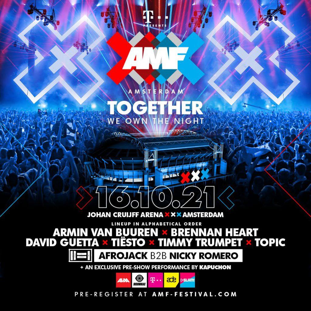 AMF Amsterdam 2021 Lineup