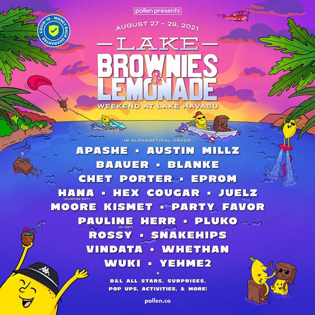 Lake Brownies & Lemonade 2021 Lineup