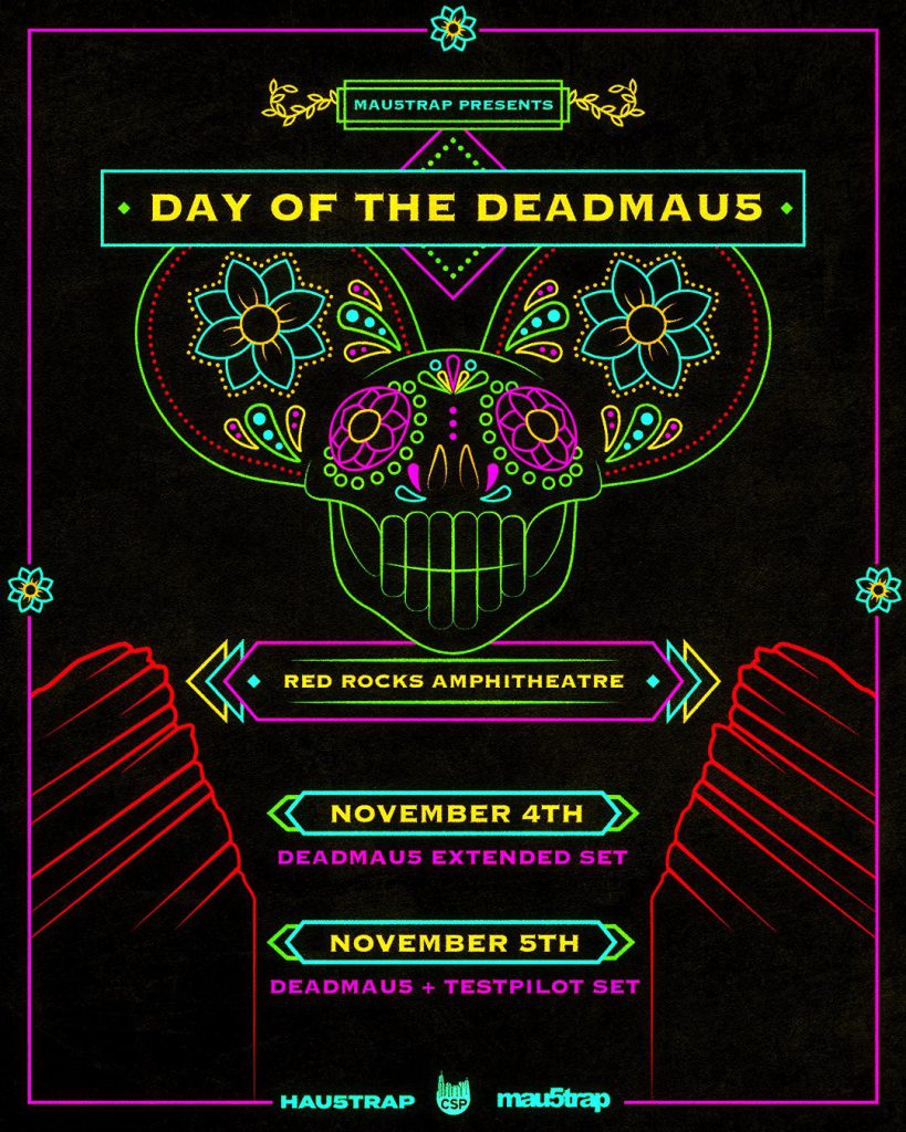 day of the deadmau5 red rocks 2021