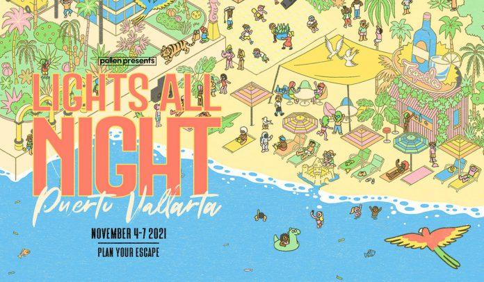 Lights All Night Puerta Vallarta