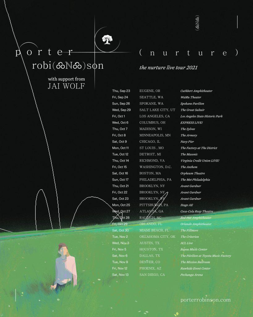 Porter Robinson Presents Nurture Live Tour 2021