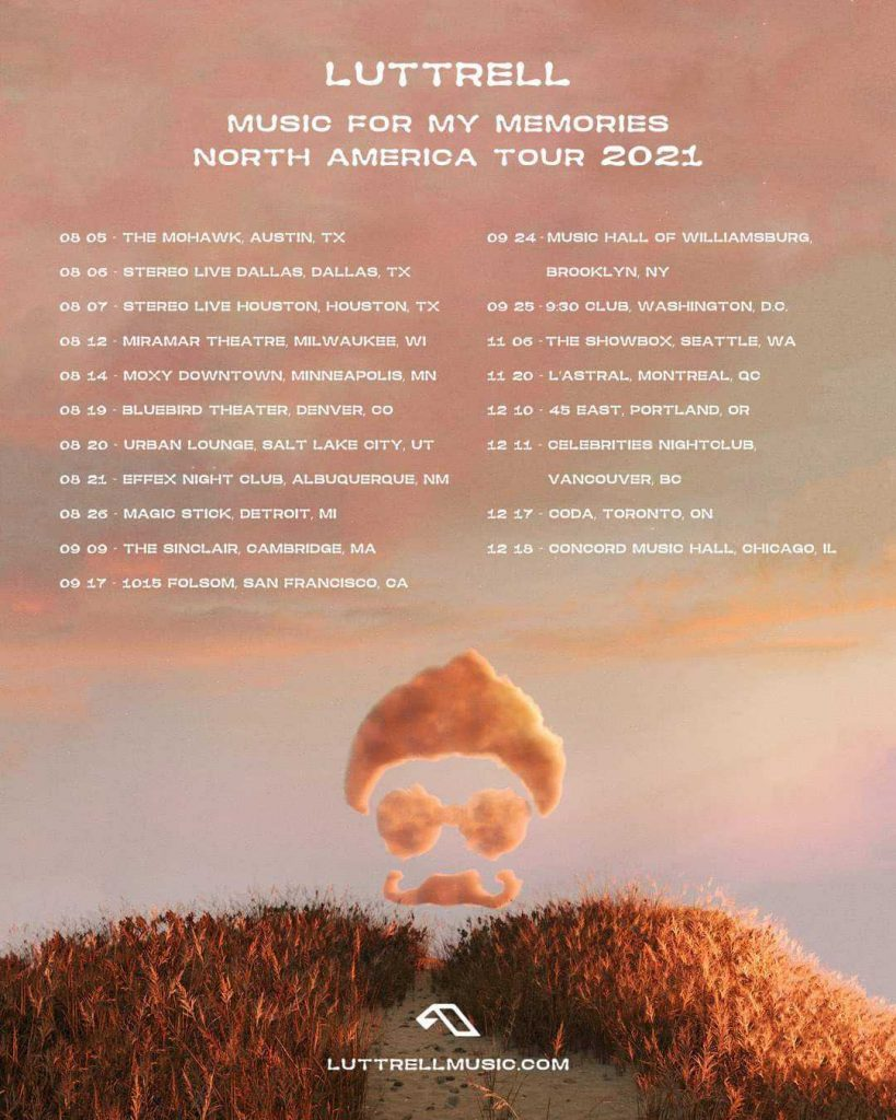 Luttrell - Music For My Memories North American Tour 2021