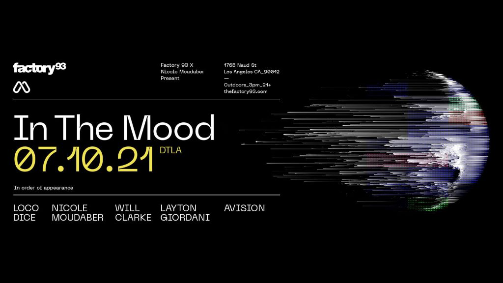 Factory 93 x Nicole Moudaber Present: In The Mood