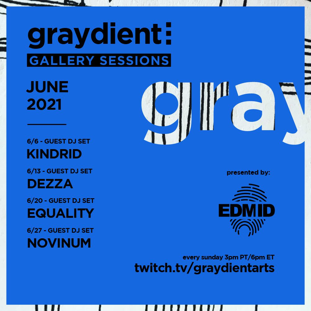 Graydient Collective Gallery Sessions June Lineup