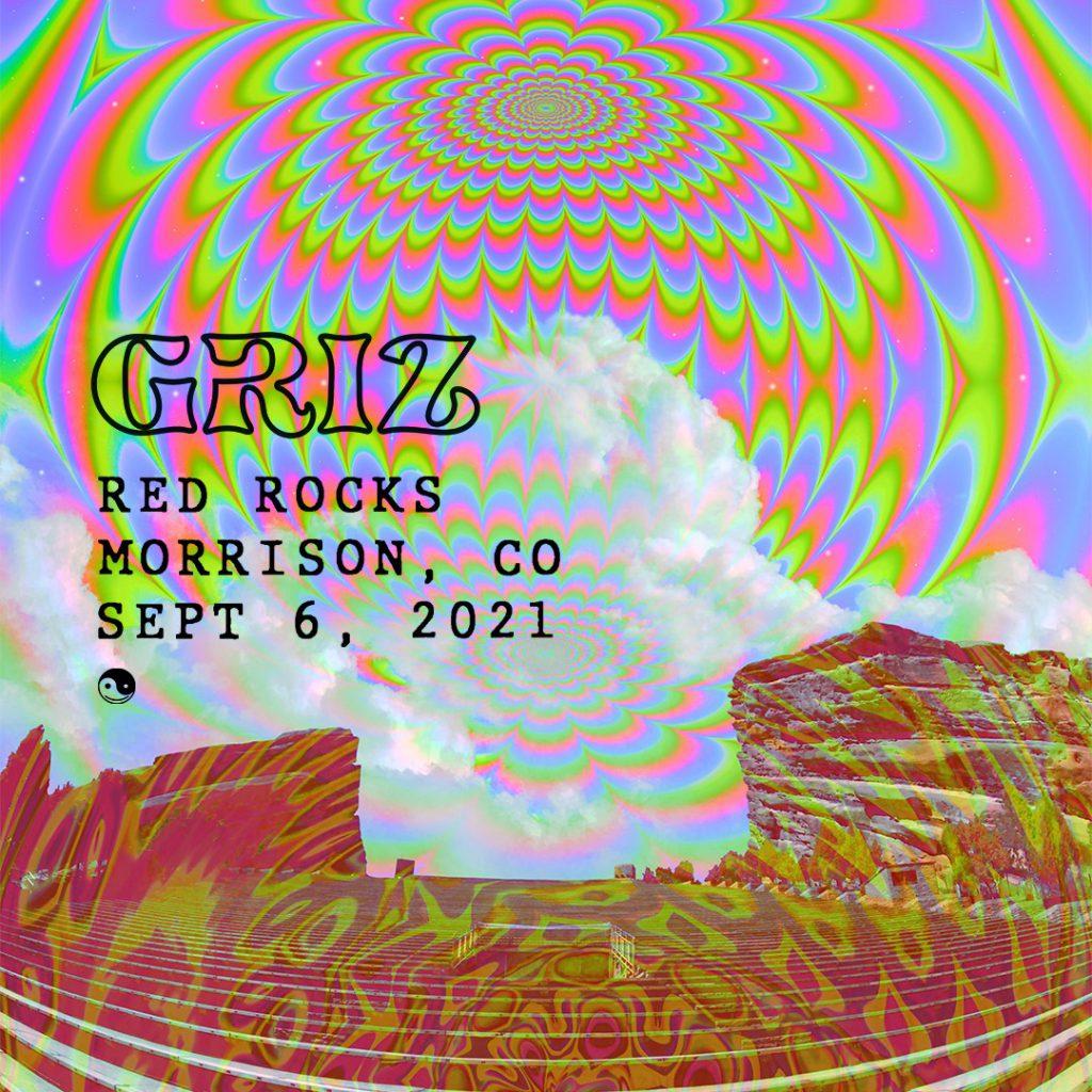 GRiZ at Red Rocks Labor Day 2021