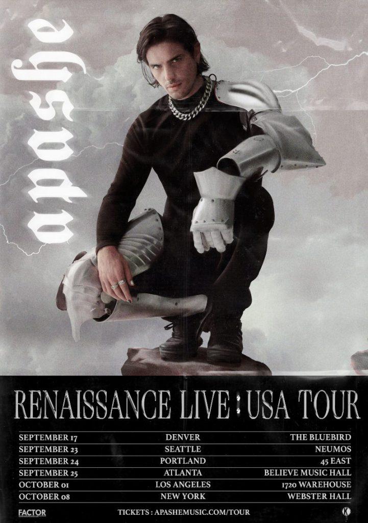 Apashe's Renaissance Live: USA Tour