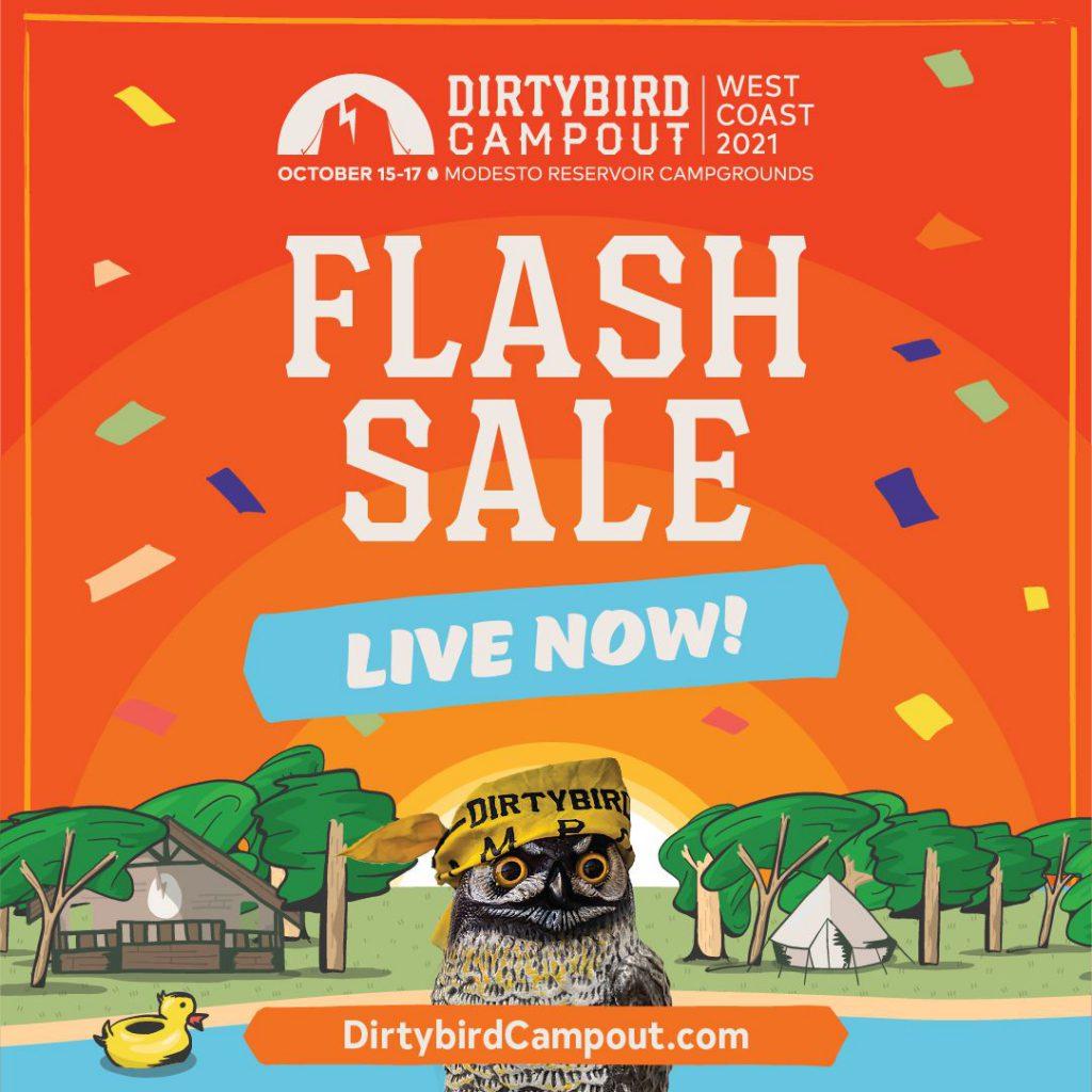Dirtybird Flash Sale