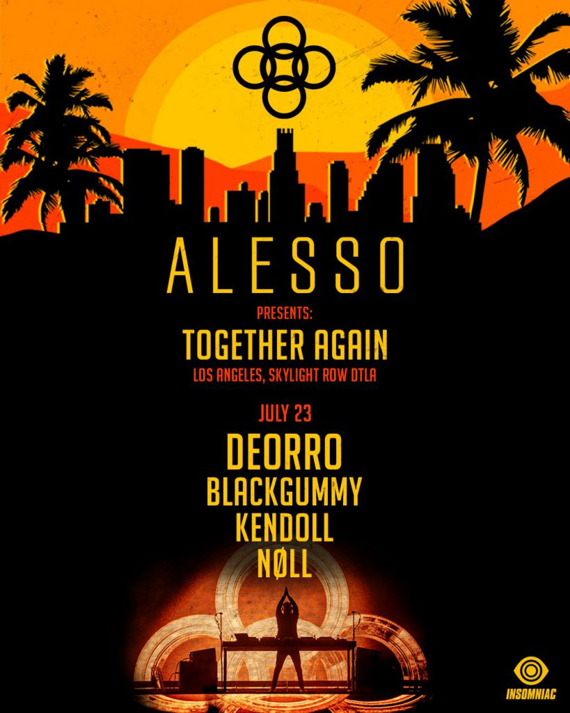 Alesso: Together Again Los Angeles Lineup Friday