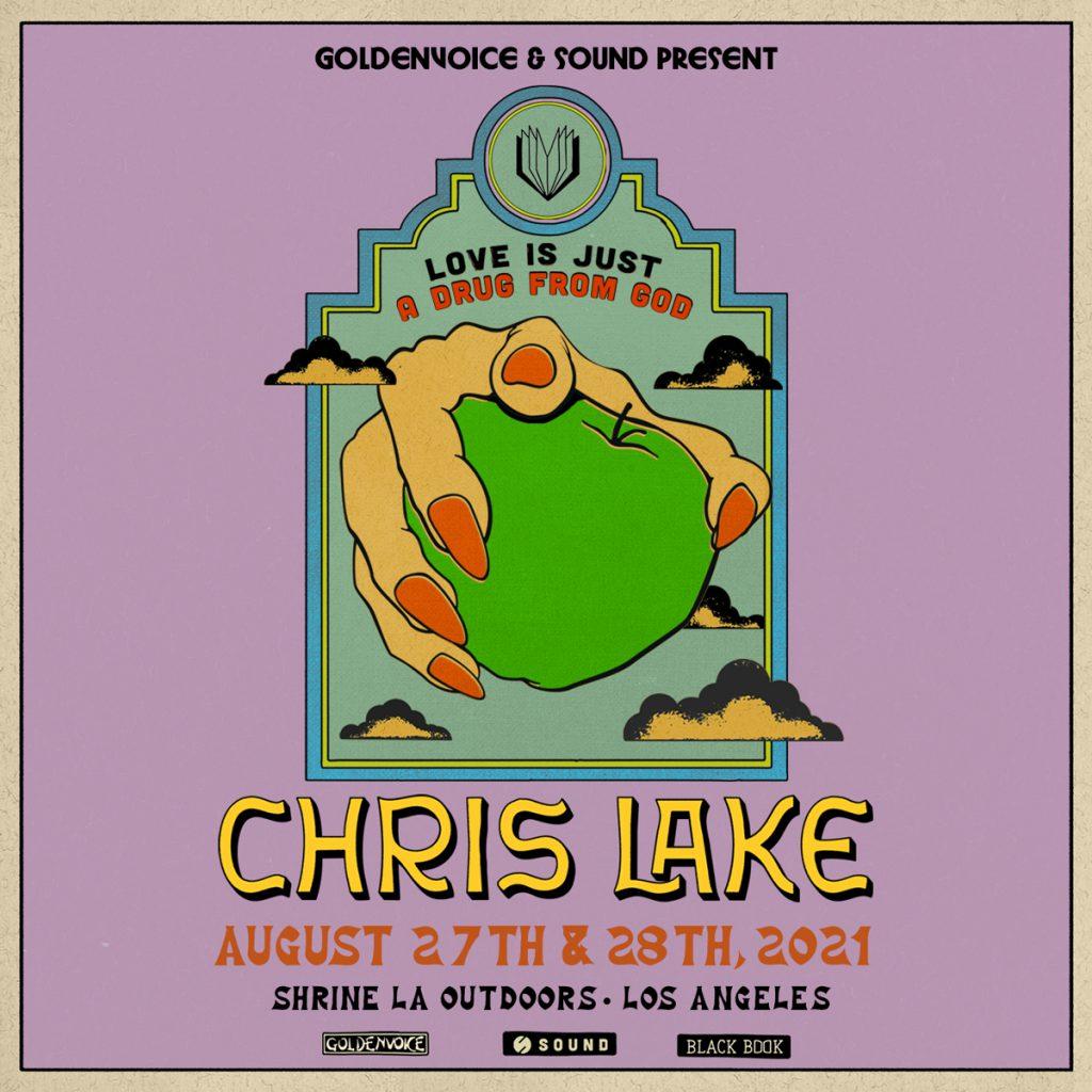Chris Lake at the Shrine Los Angeles Goldenvoice