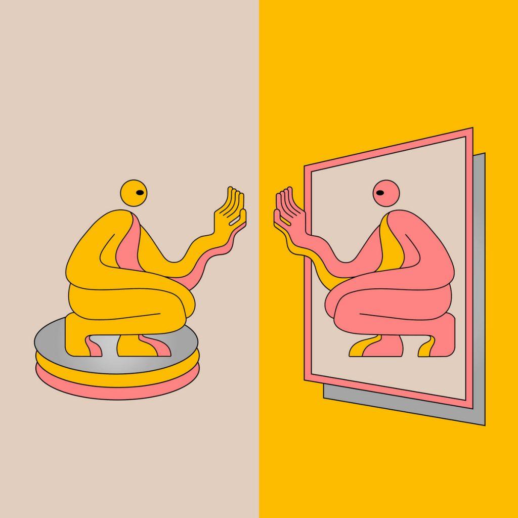 DJ Seinfeld Mirrors Album Art