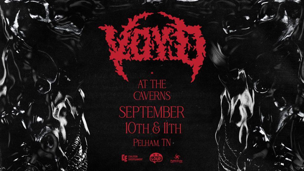 SVDDEN DEATH Presents: VOYD at The Caverns