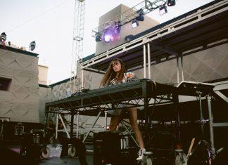 Callie Reiff at Brooklyn Mirage