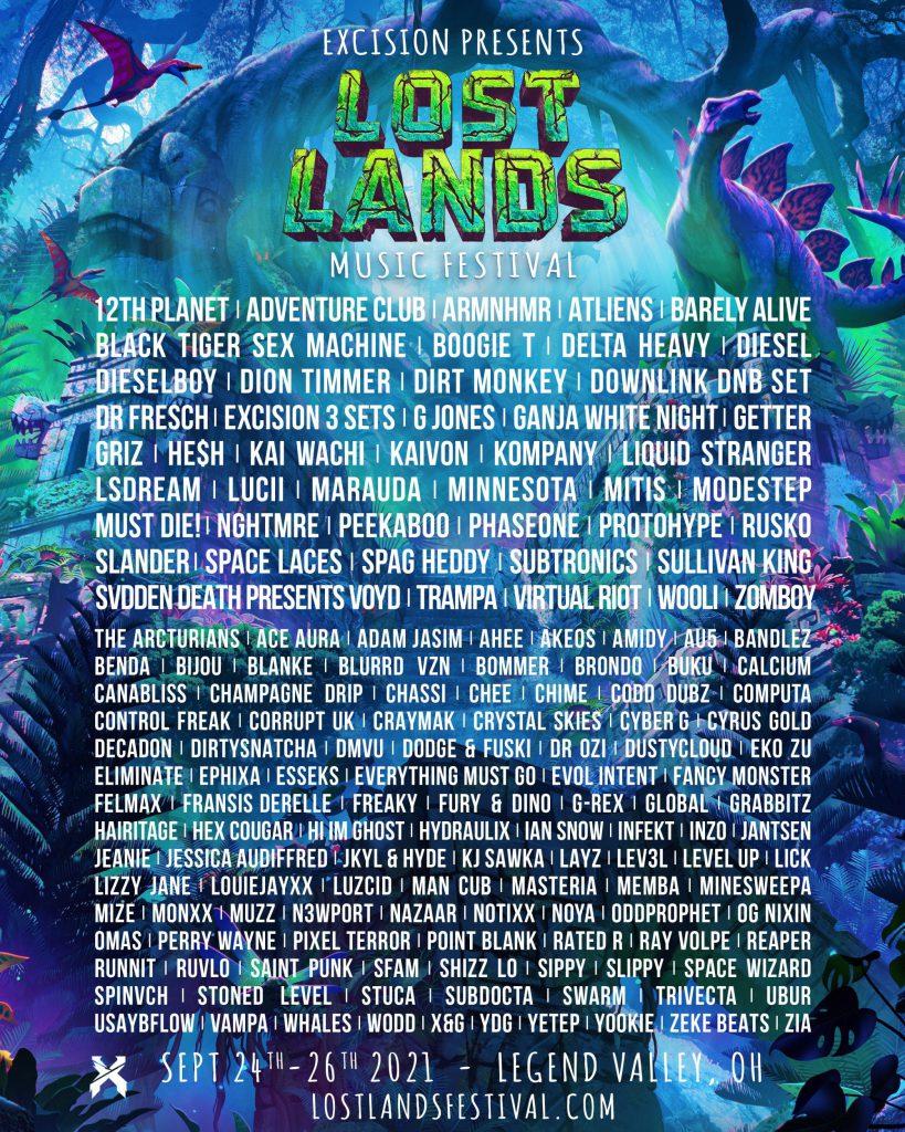 Lost Lands 2021 Lineup