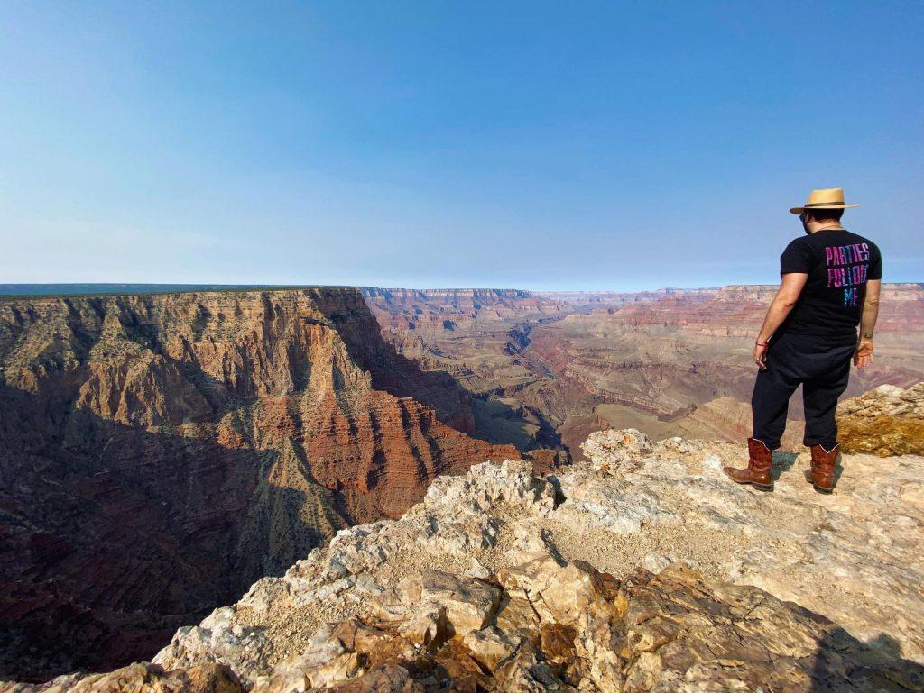 Sacha Robotti at the Grand Canyon