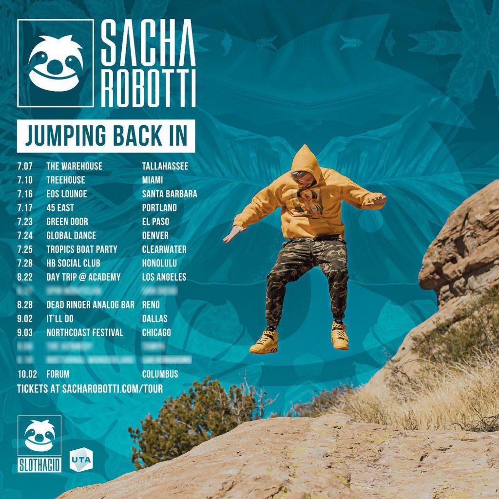 Sacha Robotti / Jumping Back In tour