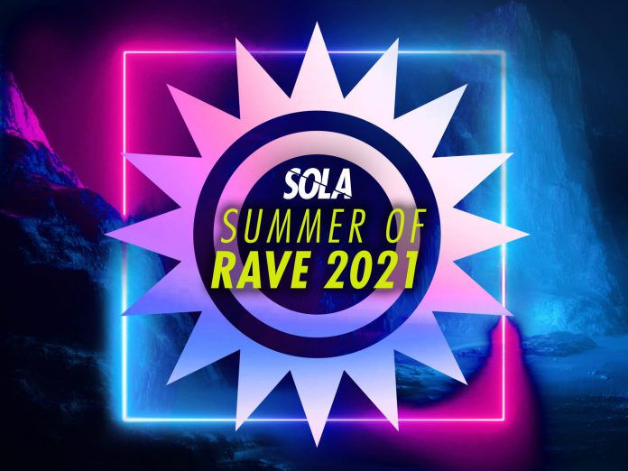 Sola Summer of Rave 2021 Cover Art