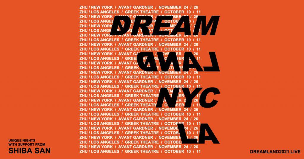 ZHU DREAMLAND LA NYC Flyer