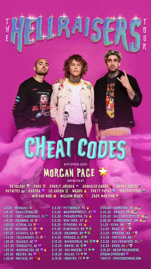 Cheat Codes Hellraisers Tour